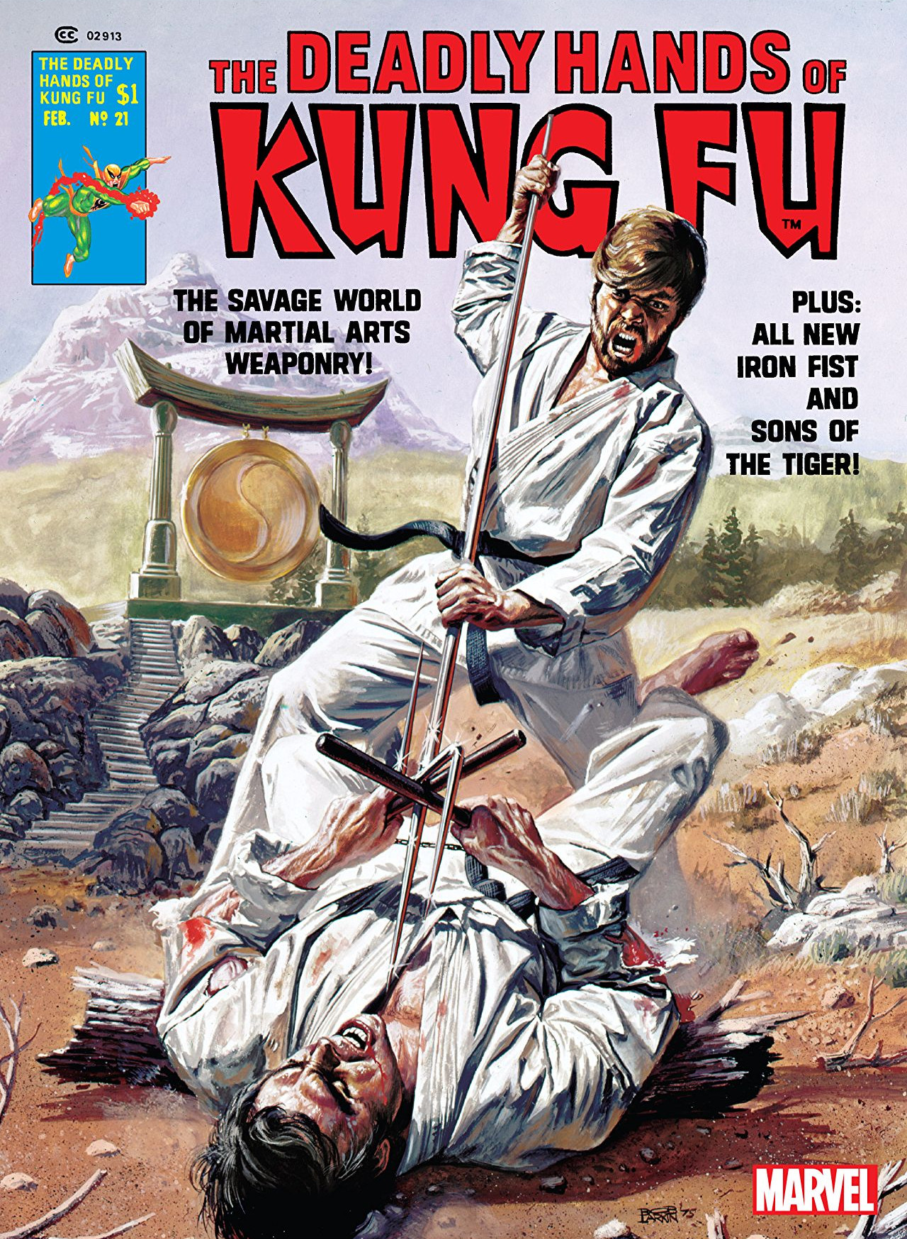 Deadly Hands of Kung Fu Vol 1 21 | Marvel Database | FANDOM ...
