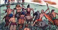 Dwarf Men of Devil-Tree Plateau (Earth-616) from Tex Taylor Vol 1 8 0001