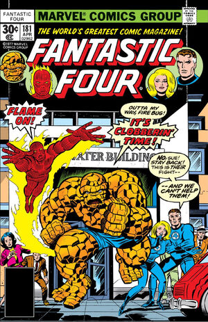 Fantastic Four Vol 1 181