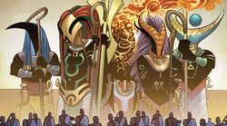 Gods of Wakanda (Earth-616) from Black Panther Vol 6 13 001
