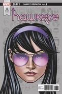Hawkeye Vol 5 13 Legacy Headshot Variant