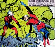 Henry Pym (Earth-616), Janet Van Dyne (Earth-616), and Pilai (Earth-616) by Tales to Astonish Vol 1 44 001