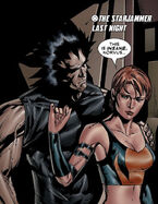 Korvus Rook'shir (Earth-616) & Rachel Summers (Earth-811) from Uncanny X-Men Vol 1 484 002