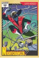 Kurt Wagner (Earth-616) from Marvel Universe Cards Series II 0001