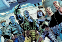 Lunatic Legion (Kree Survivors) (Earth-616) from Iron Man Vol 3 7 001