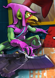 Norman Osbird (Earth-TRN461) from Spider-Man Unlimited (video game) 001