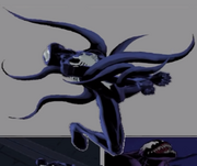 Peter Parker (Earth-TRN005) and Venom (Symbiote) (Earth-TRN005) from Ultimate Spider-Man (video game) 001
