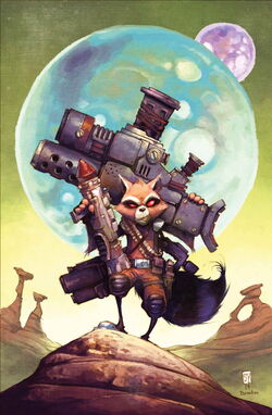 Rocket Raccoon Vol 2 3 Textless