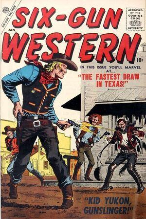 Six-Gun Western Vol 1 1