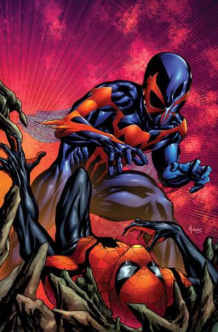 File:Superior Spider-Man Vol 1 17 Mckone Hastings Variant Textless.jpg