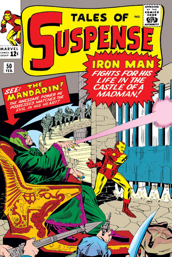 Image result for Tales of Suspense #50