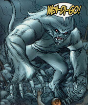Wendigo (Project Achilles) (Earth-616) from Marvel Team-Up Vol 3 6 001