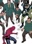 William Baker (Earth-616) army of Sandmen from Amazing Spider-Man Vol 1 615