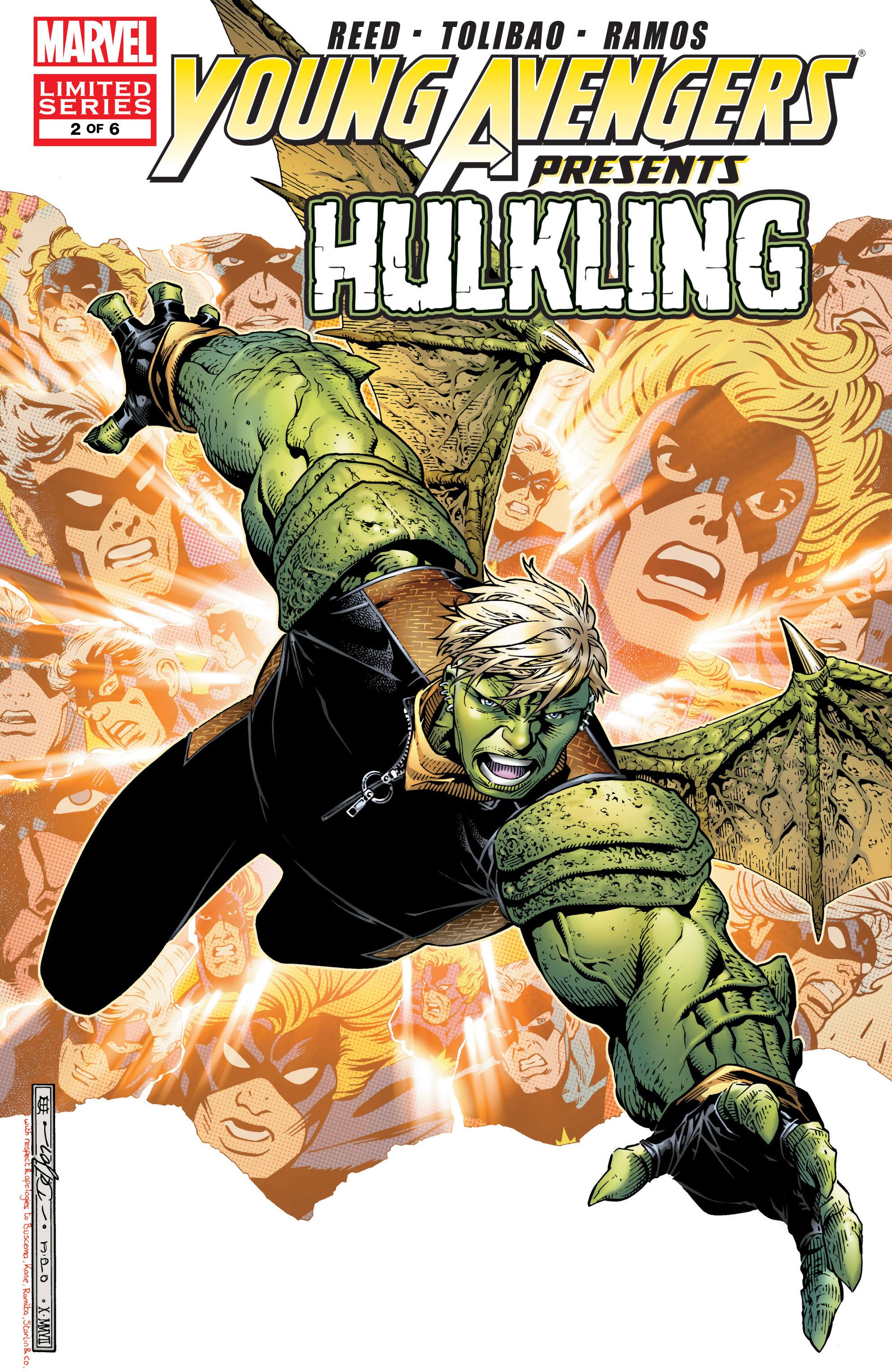 Young Avengers Presents Vol 1 2