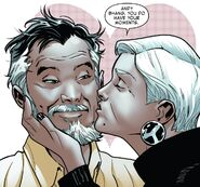 Andrew Bhang (Earth-616) and Amanda Armstrong (Earth-616) from Tony Stark Iron Man Vol 1 6 001
