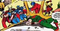 Avengers (Earth-9092) from Avengers West Coast Vol 1 62 0001