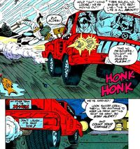 Bucket, Chair, Crowbar, Eccentrics, Eccen-truck, Karmel (Earth-9047) from What The-- Vol 1 25