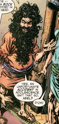 Cain (Abel) (Earth-616) from Howard the Duck Vol 3 4 0001