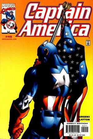 Captain America Vol 3 40