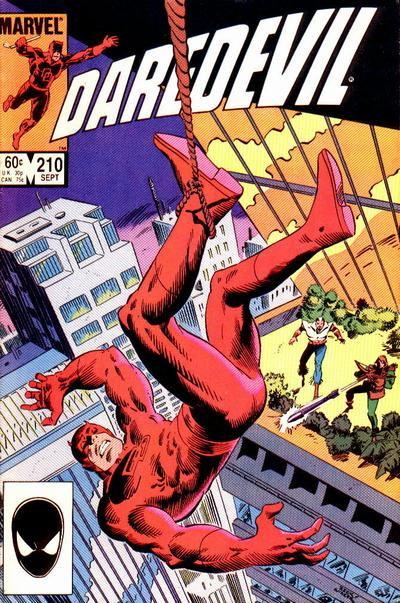 Daredevil Vol 1 210