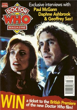 Doctor Who Magazine Vol 1 238