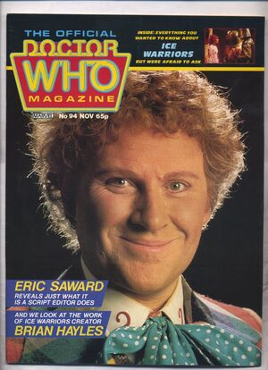 Doctor Who Magazine Vol 1 94