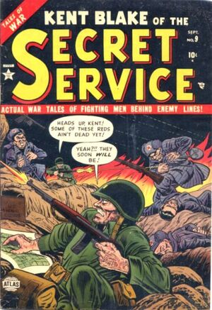 Kent Blake of the Secret Service Vol 1 9