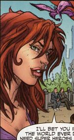 May Parker (Earth-9021) from What If House of M Vol 1 1 001