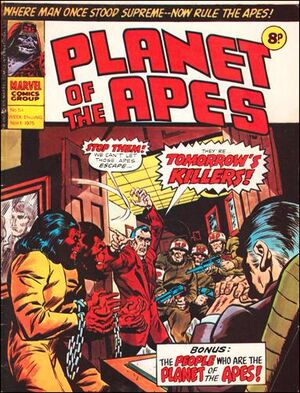 Planet of the Apes (UK) Vol 1 54