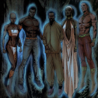 Africa's Protectors (Earth-31916) from Squadron Supreme Vol 2 3 001