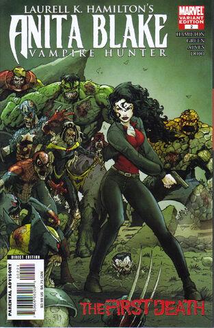 File:Anita Blake Vampire Hunter - The First Death Vol 1 2 Zombie Variant.jpg
