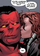 Annie (LMD) (Earth-616) and Thaddeus Ross (Earth-616) from Hulk Vol 2 55 0002