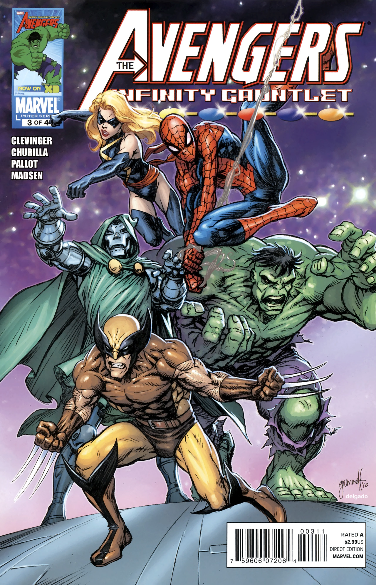 Avengers & the Infinity Gauntlet Vol 1 3