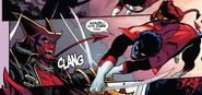 Azazel (Earth-616) vs. Kurt Wagner (Earth-616) from Amazing X-Men Vol 2 1 001