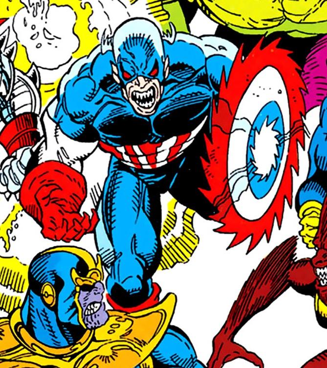 Captain America Doppelganger Earth 616 Marvel Database