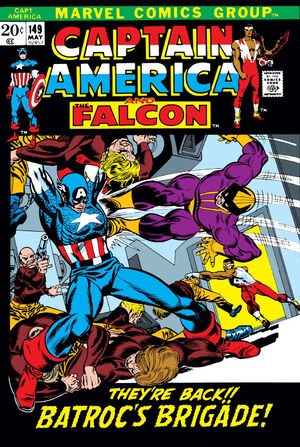 Captain America Vol 1 149
