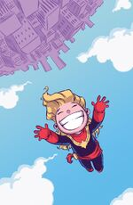 Captain Marvel Vol 8 1 Baby Variant Textless