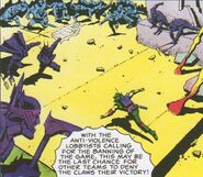 Gladiators (Earth-5555) from Dragon's Claws Vol 1 1 0001