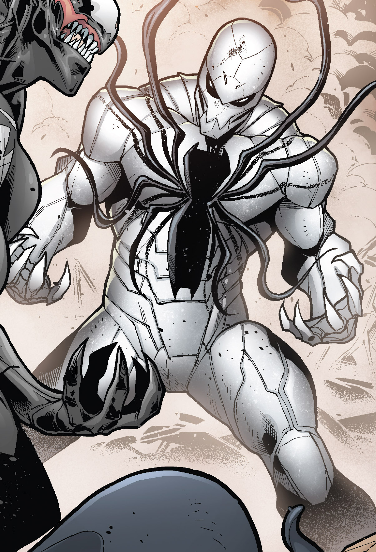 Hive %28Poisons%29 %28Earth 17952%29 Members Poison Spider Man from Venomverse Vol 1 1 001 - There really are so many more suits Insomniac can use in the next game.