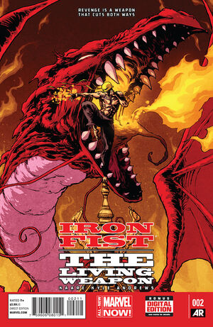 Iron Fist The Living Weapon Vol 1 2