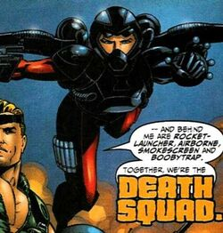 Iron Man Vol 3 1 page 20 Airborne (Death Squad) (Earth-616)
