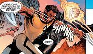 Janet Van Dyne (Earth-616), James Howlett (Earth-616), and Johnathon Blaze (Earth-616) from Uncanny Avengers Annual Vol 1 1 001
