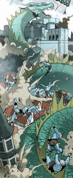 Jormungand (Earth-5631) Thor and the Warriors Four Vol 1 4