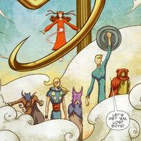 Lost Boys (Earth-TRN556) from Avengers Fairy Tales Vol 1 1 0001