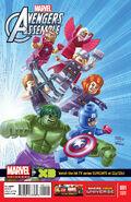 Marvel Universe- Avengers Assemble Vol 1 1 LEGO Variant