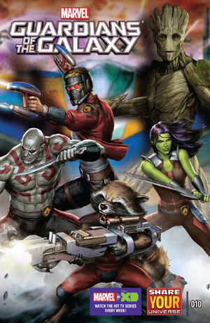 Marvel Universe Guardians of the Galaxy Vol 2 10