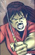 Mary Blevins (Earth-616) from Blaze Vol 1 3 0001