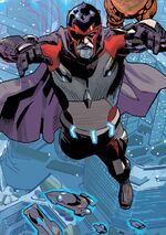 Max Eisenhardt (Earth-13133) from Uncanny Avengers Vol 1 18.NOW 001
