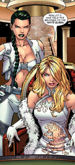 Opul Lun Sat-Yr-Nin (Earth-794) and Ophelia Sarkissian (Earth-616) from Uncanny X-Men Vol 1 452 0001