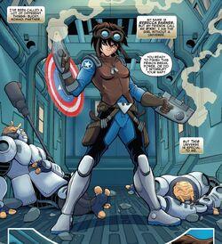 Rebecca Barnes (Heroes Reborn) (Earth-616) from Future Foundation Vol 1 2 001